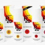 Protector solar P20: una aplicación, 10 horas de protección