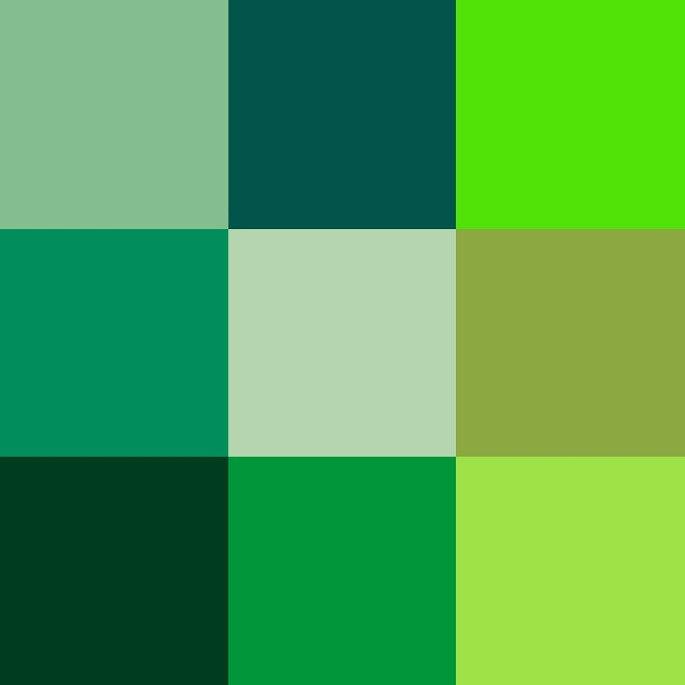 verde el color del ao