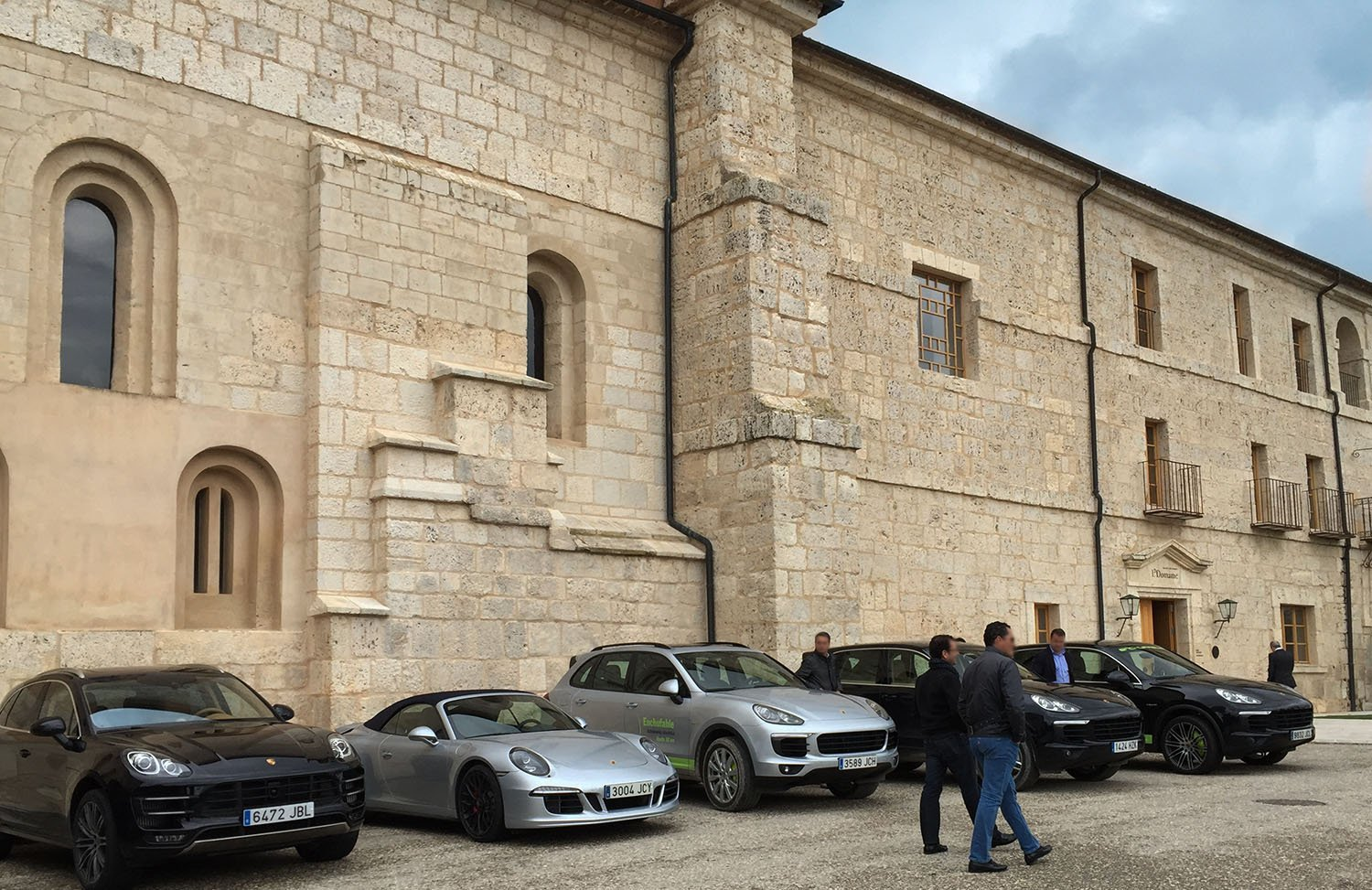 Abadia y porches