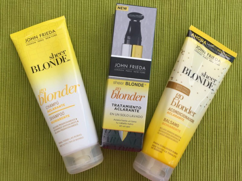 Sheer Blonde Go Blonder de John Frieda