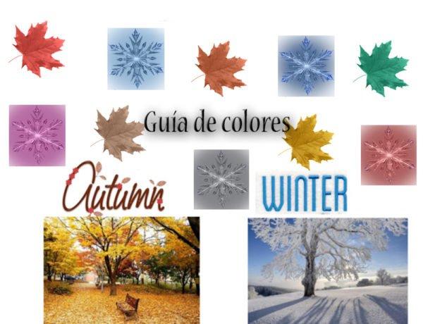 Guía de Colores Otoño Invierno