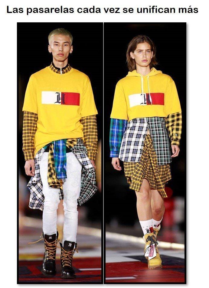 De cómo la moda cada vez tiene menos género